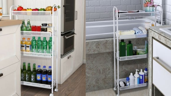 A small-space solution for kitchens and bathrooms.