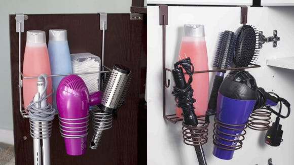 Say goodbye to bathroom clutter.