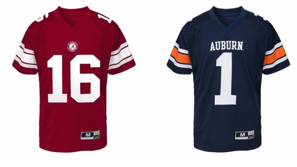 Toddler College Jersey