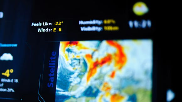Get up-to-date weather alerts whenever storms are near.