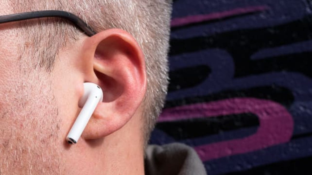 Apple AirPods can sub for a hearing aid if you're running iOS 12