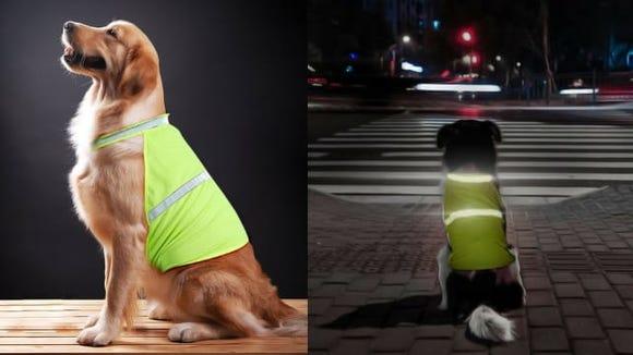 Vizpet reflective dog vest