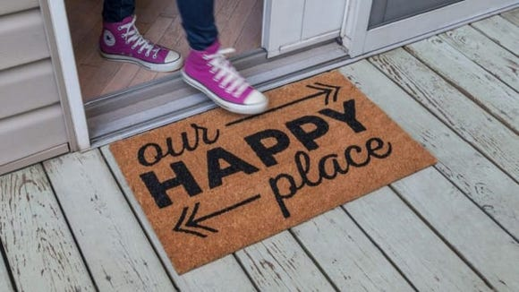 Entryways Happy Place Doormat