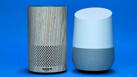 Amazon Echo and Google Home Smart Speakers