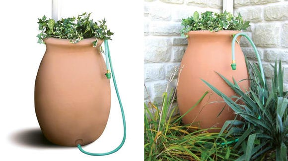 Algreen Rain Barrel Planter
