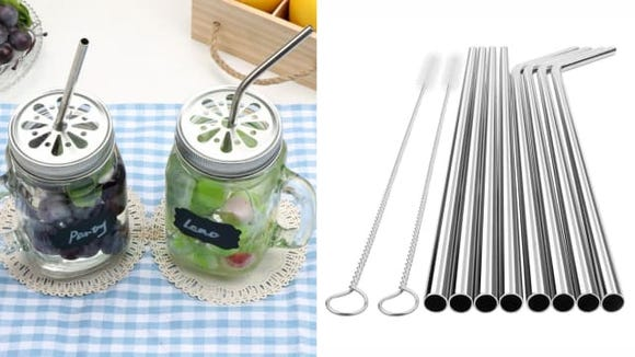 YIHONG Stainless Steel Reusable Straws