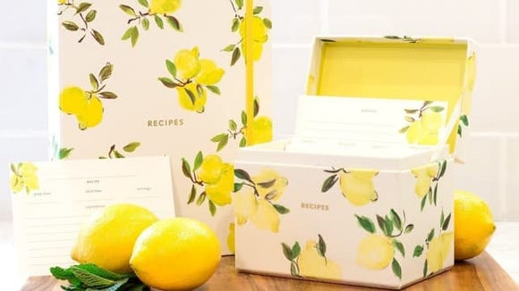 Kate Spade Recipe Box