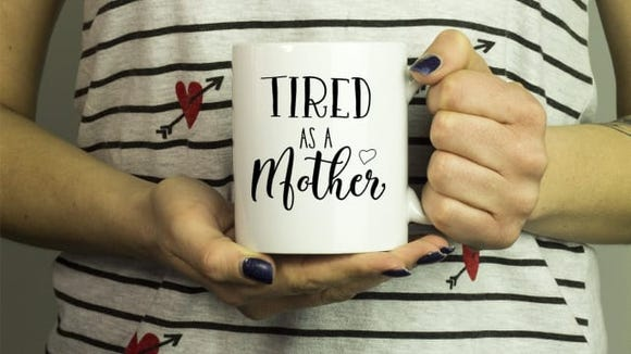 Tired as a Mother Mug