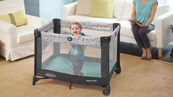A pack 'n play is a must-have for families on the go.