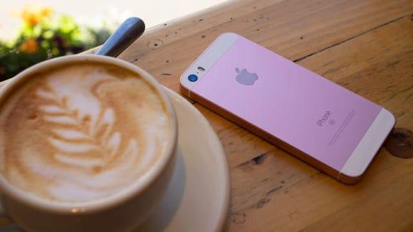 Apple iPhone SE On Table