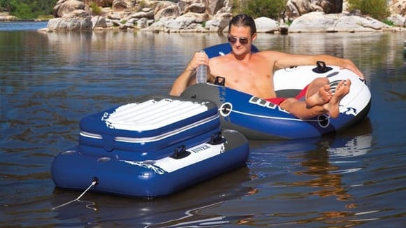Take your cooler with you out on the water!