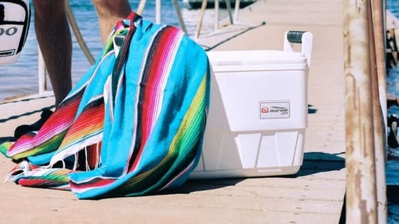 It's the perfect cooler for your fishing trips.