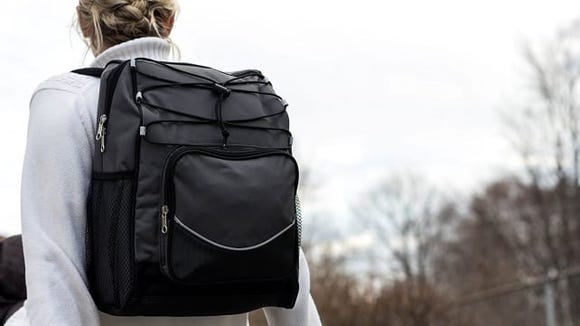 This backpack cooler makes transport a whole lot easier.