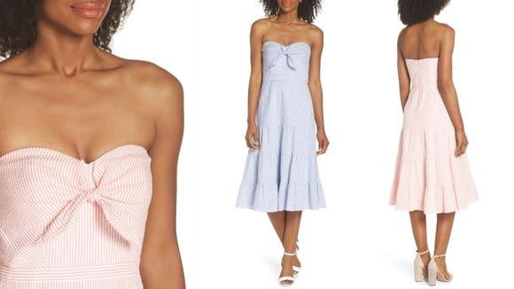 J.Crew Tie-Front Dress