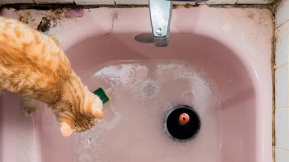 Clogged Bathtub Drain
