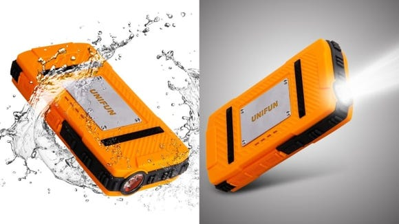 Unifun Waterproof External Battery Power Bank Charger