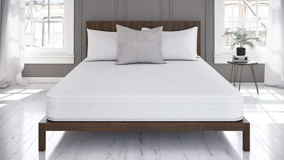 You'll sleep well knowing this mattress was a steal.