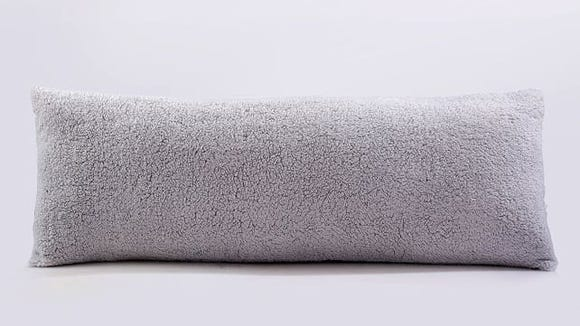 Reafort Ultra Soft Sherpa Body Pillow Cover