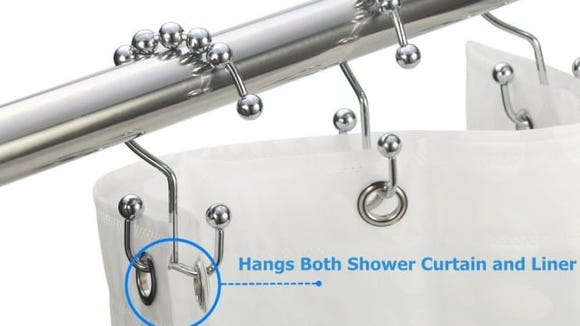 Amazer Shower Curtain Hooks
