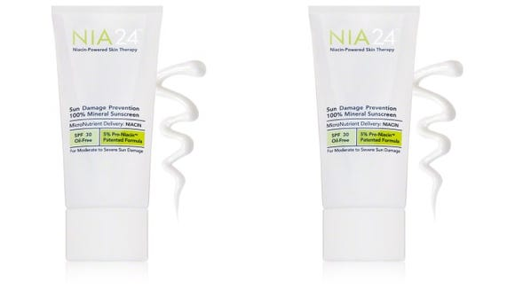 Nia 24 Sun Prevention 100 Percent Mineral Sunscreen