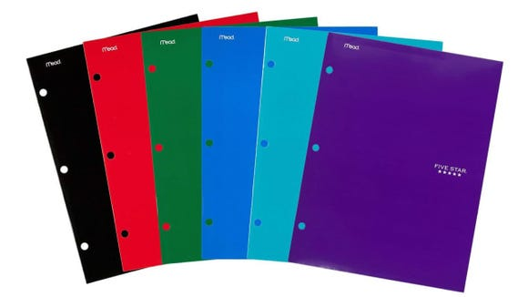 Five Star 4 Pocket Folders