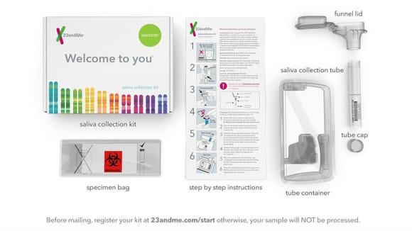 23andMe DNA Testing Kit