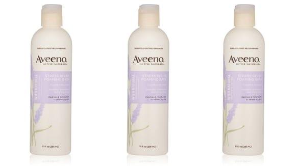 Aveeno Stress Relief Foaming Bath