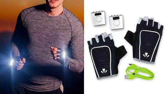 Uncommon Goods Light-Up Gloves