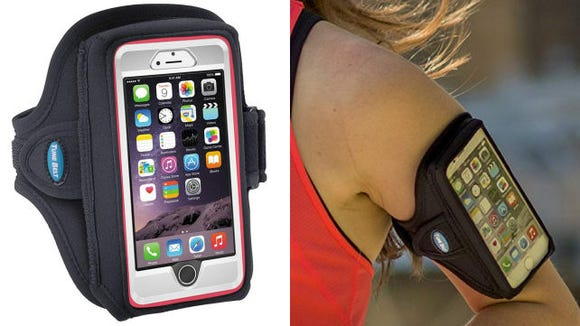 Now you won't need to awkwardly carry your phone during runs.