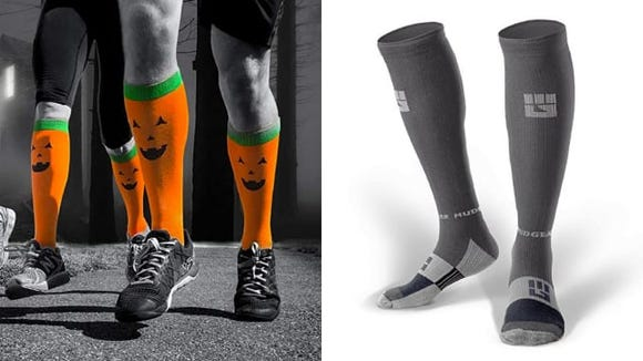 You'll run even better in these socks, and have some fun, too.