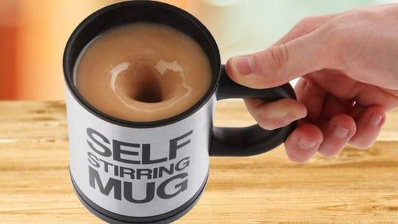 Chuzy Chef Self Stirring Coffee Mug
