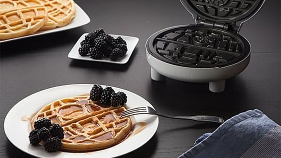 May the force of waffles be with you.