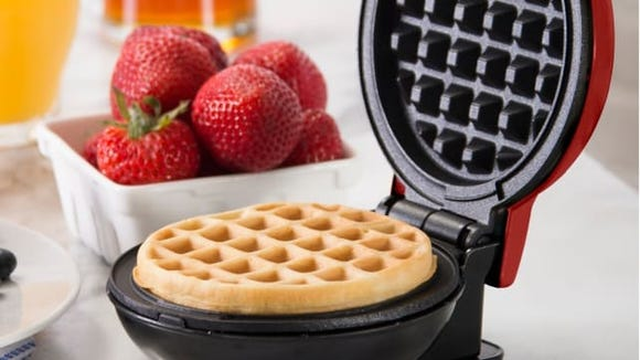 Honey, I shrunk the waffles!