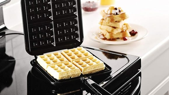 Make waffles anywhere you have a stovetop.
