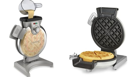 A whole new way to make waffles.