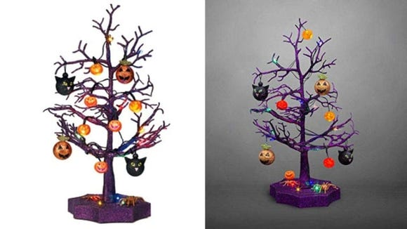 If Halloween is your Christmas, this little tree might be perfect for you.