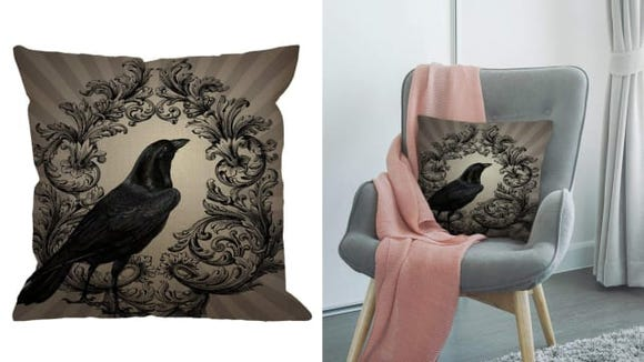 Add a subtle touch of Halloween horror to any room.