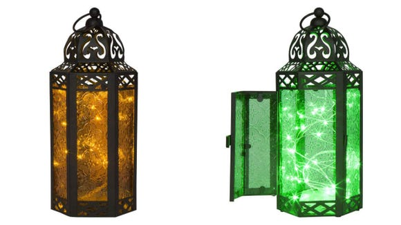 The lights are removable so you can use these year 'round no matter the color you choose.