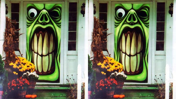 Greenbrier Green Goblin Door Cover