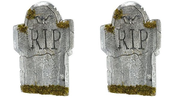 These gravestones look cool, but you can probably get them cheaper elsewhere.