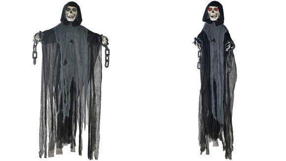 Haunt the whole neighborhood with a shrieking Grim Reaper.