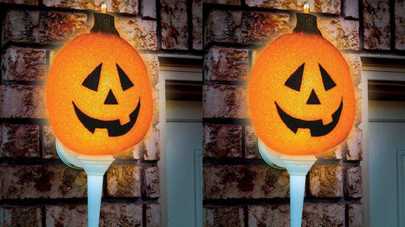 Transform your porch light with this fun cover.