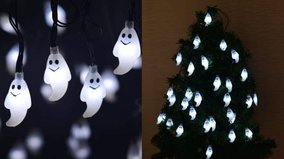 Leviitec Solar Halloween Decorations String Lights