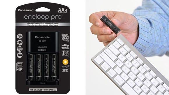 Panasonic Eneloop Pro AA Rechargeable Batteries
