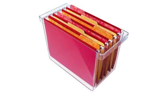STORi Plastic Hanging File Organizer