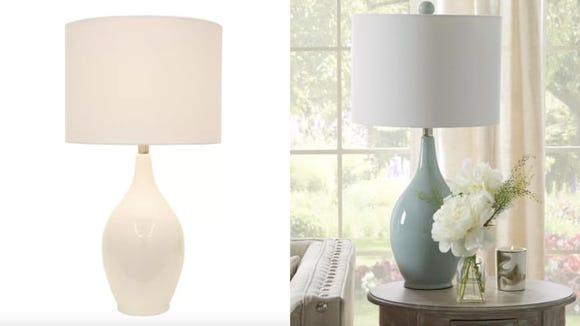 "Mercury Row Miltiades 27"" Table Lamp"
