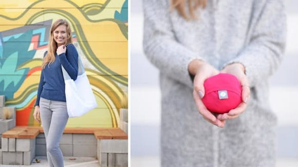 Flip and tumble reusable tote - The best gifts for travelers