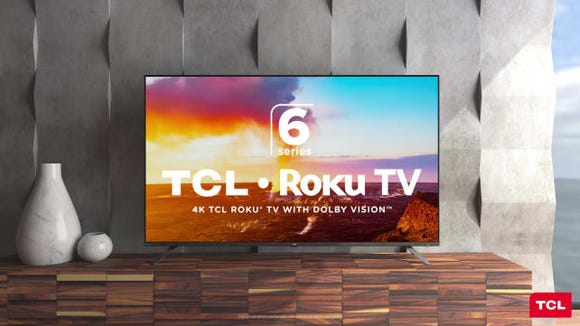 The best gifts for men: TCL Roku 6 Series TV