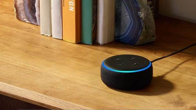 Amazon Echo Dot. A patent granted earlier this month may allow Alexa to detect if you've got a cough or cold and suggest treatment.