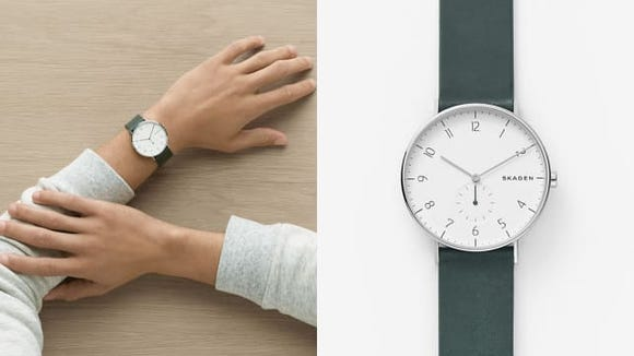 The best gifts for men: Skagen Aaren Watch